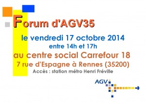 affiche forum agv 2014