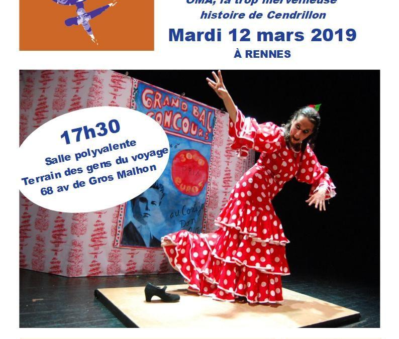 Spectacle Flamenco le 12 mars