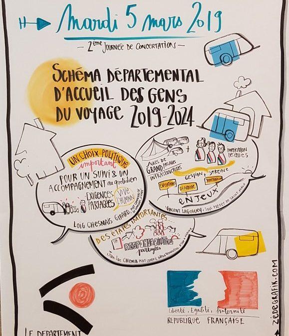 Schéma départemental : 2ème journée de concertation le 5 mars 2019