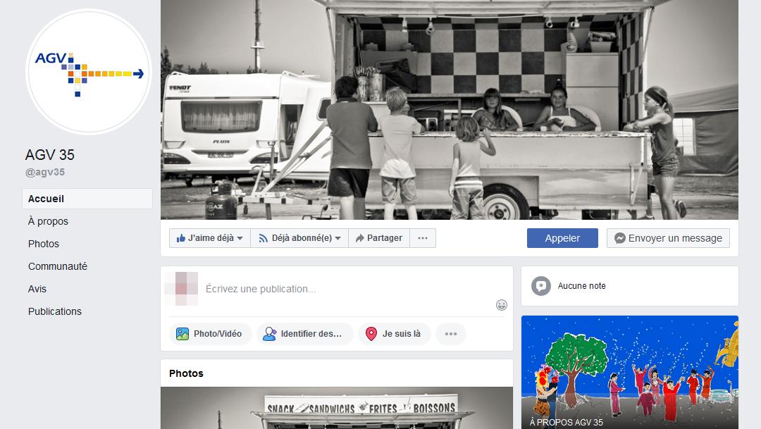 Facebook AGV le retour !